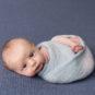wrap, blue, awake, newborn