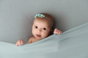 newborn, wrap, mint, girl