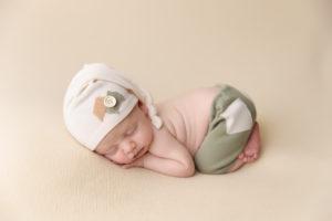 bum up, butter, green, newborn
