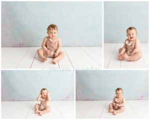 children, portraits, first birthday