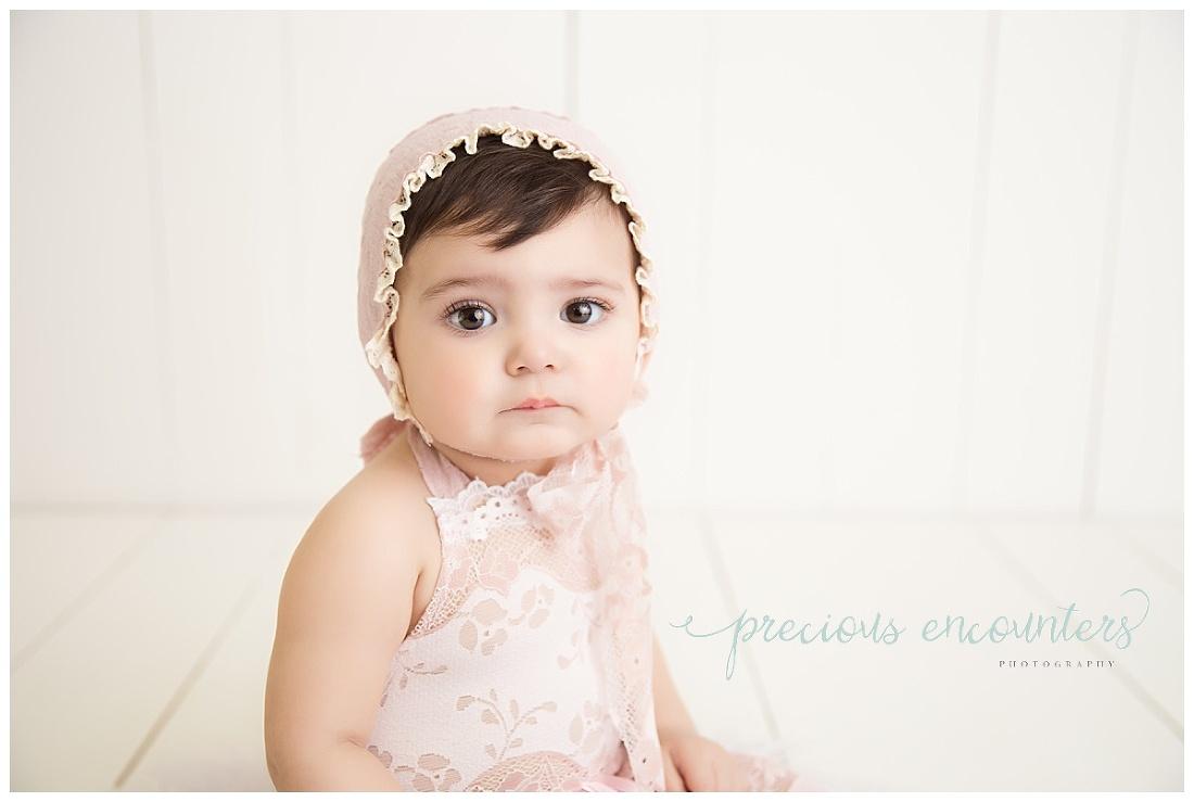 child photographer, pink, romper,