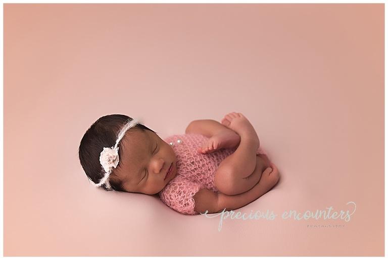pink, girl, newborn, baby