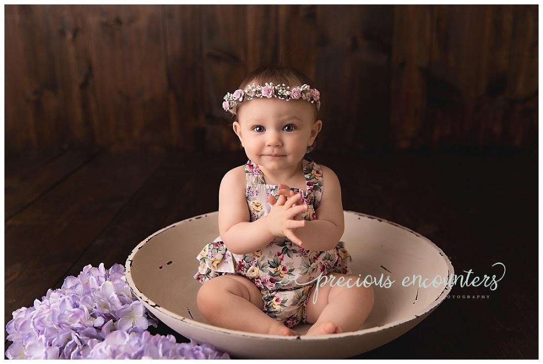flowers, halo, bowl, girl, , purple
