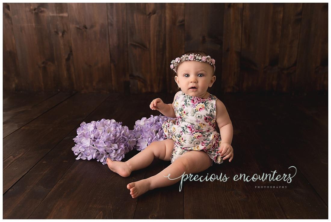 flowers, halo, bowl, girl, purple