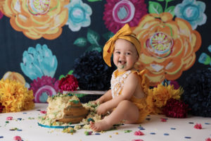 navy, mustard, cake smash, colorado, photographer