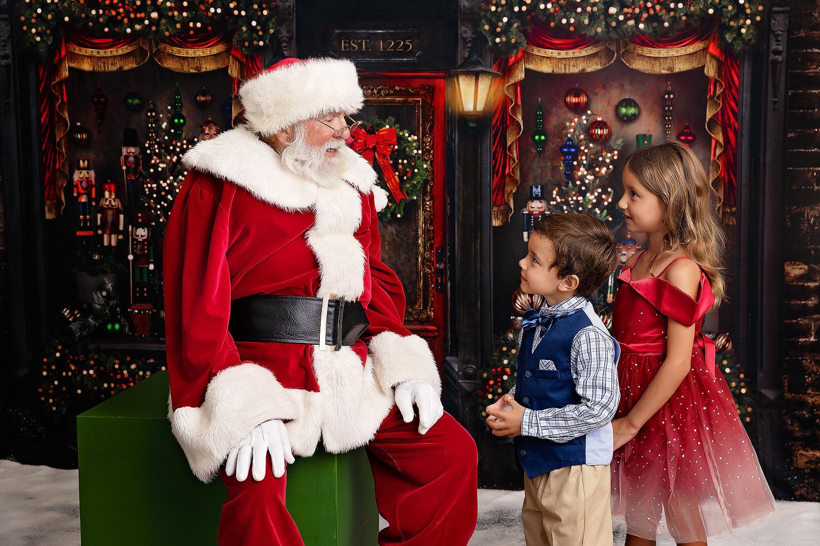 Santa, Hawaii, photography, children